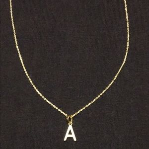 Gold Chain Cable Chain 18in 1mm And A Pendant